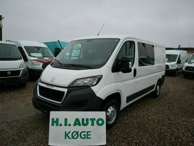 brugt Peugeot Boxer 330 2,2 HDi 110 Kasse-/Mandskabsvogn