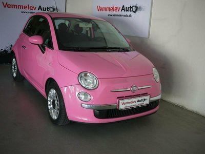 brugt Fiat 500 1,2 Pink