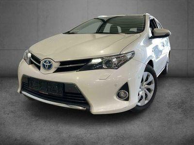 brugt Toyota Auris Touring Sports 1,8 VVT-I Hybrid H2+ Comfort E-CVT 136HK Stc Aut. A++