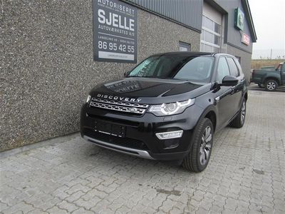 brugt Land Rover Discovery Sport 2,0 TD4 HSE Luxury 4x4 180HK 5d 9g Aut.