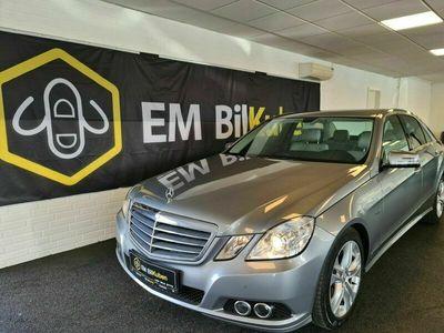 brugt Mercedes E200 8 CGi aut. BE