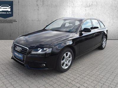 brugt Audi A4 Avant 2,0 TDI DPF 143HK Stc 6g - Personbil - Sortmetal