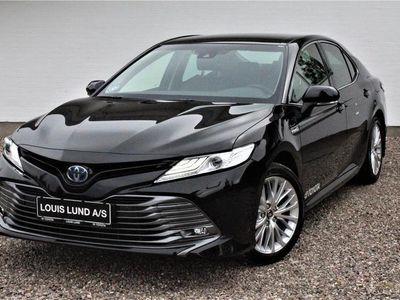 brugt Toyota Camry 2,5 VVT-I H3 Executive 218HK Aut. A++