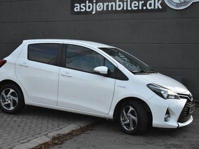 brugt Toyota Yaris Hybrid 1,5 Hybrid Premium CVT