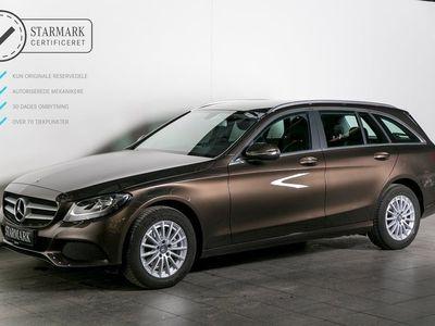 brugt Mercedes C200 d 1,6 st.car aut.