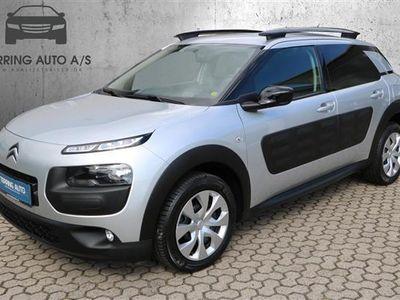 brugt Citroën C4 Cactus 1,2 PureTech Feel 82HK 5d - Personbil - sølvmetal