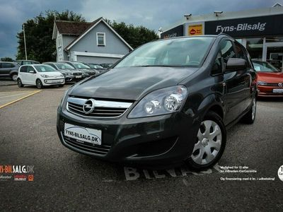 brugt Opel Zafira 1,8 16V 140 Classic aut.