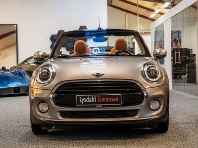 brugt Mini Cooper Cabriolet 1,5 136 Essential Edition