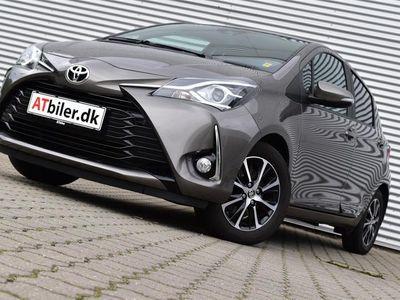 brugt Toyota Yaris 1,5 VVT-I T2 Premium 111HK 5d 6g A+