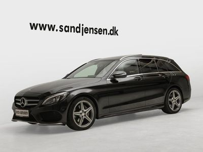 gebraucht Mercedes C220 d 2,2 stc. aut.