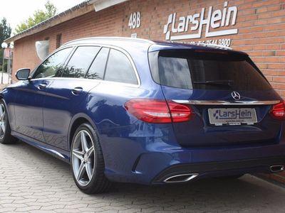 brugt Mercedes C220 BlueTEC AMG Line st.car aut.