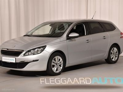 brugt Peugeot 308 SW 1,2 e-THP Active 130HK Stc