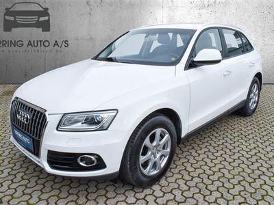 brugt Audi Q5 2,0 TDI 150HK 5d 6g - Personbil - hvid