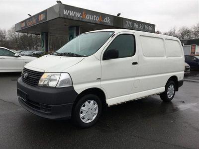brugt Toyota HiAce Kort 2,5 D-4D 116HK Van