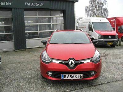 brugt Renault Clio Sport Tourer 0,9 Energy TCe Limited 90HK Stc