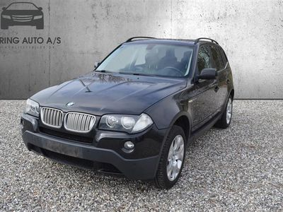 brugt BMW X3 sD 3,0 D 4x4 286HK 5d 6g Aut. - Personbil - Sort