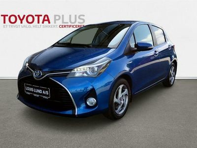 brugt Toyota Yaris Hybrid 1,5 VVT-I Hybrid Sport Komfort E-CVT 100HK 5d Aut. A+++