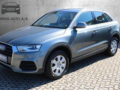 brugt Audi Q3 1,4 TFSI 150HK 5d 6g - Personbil - gråmetal