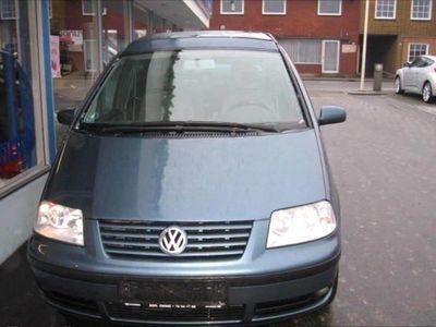 brugt VW Sharan 1,8 Turbo Sportline Tiptr. 150HK Aut.