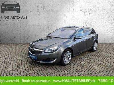 brugt Opel Insignia Sports Tourer 1,6 CDTI Cosmo 136HK Stc 6g Aut. - Personbil - grågrønmetal