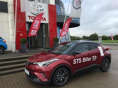 brugt Toyota C-HR 1,8 B/EL Selected Bitone Multidrive S 122HK 5d Aut.