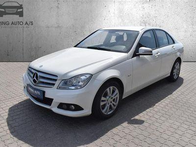 brugt Mercedes C220 d 2,2 CDI 136HK 6g - Personbil - Hvid
