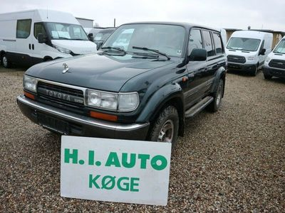 brugt Toyota Land Cruiser 4,2 TD VX aut. 4x4 Van