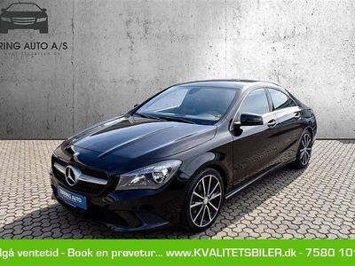brugt Mercedes CLA200 d 2,1 D 136HK 4d 6g - Personbil - sortmetal