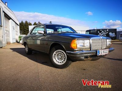 brugt Mercedes E230 W123 Coupe