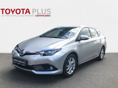 brugt Toyota Auris Touring Sports 1,2 T T2 Comfort Safety Sense 116HK Stc 6g A+
