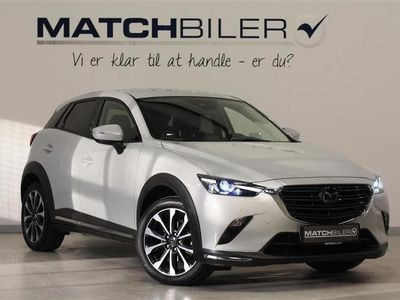 used Mazda CX-3 2,0 Skyactiv-G Optimum 121HK 5d 6g Aut.