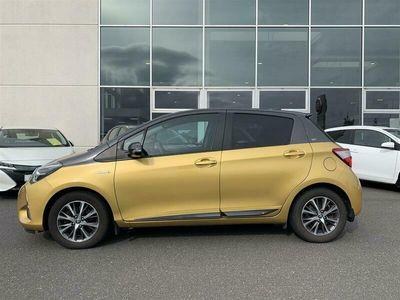 brugt Toyota Yaris 1,5 Hybrid H3 Y20 E-CVT 100HK 5d Trinl. Gear A+++