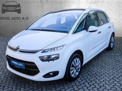 used Citroën C4 Picasso 1,6 Blue HDi Intensive EAT6 start/stop 120HK 6g Aut. - Personbil - hvid