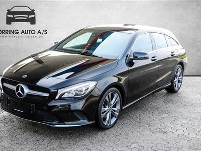 gebraucht Mercedes CLA200 Shooting Brake 1,6 7G-DCT 156HK Stc 7g Aut.