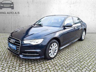 brugt Audi A6 2,0 TDI S Tronic 190HK 7g Aut. - Personbil - mørkblåmetal