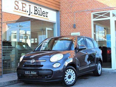 brugt Fiat 500L Living 1,6 MJT Popstar 120HK A+