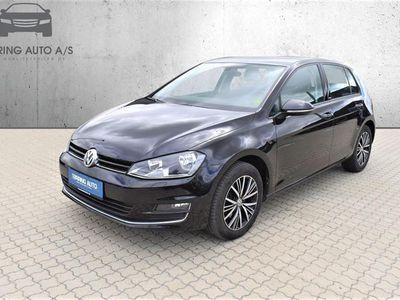 brugt VW Golf 1,4 TSI BMT Allstar 125HK 5d 6g - Personbil - Sortmetal