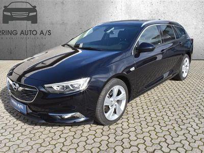 brugt Opel Insignia Sports Tourer 1,5 Turbo Dynamic Start/Stop 165HK Stc 6g Aut. - Personbil - hvid