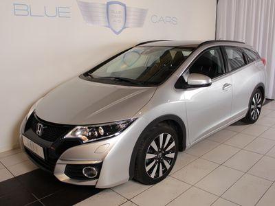brugt Honda Civic 1,6 i-DTEC Tourer Elegance 120HK st.car