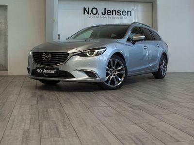 usado Mazda 6 2,2 Skyactiv-D Optimum 150HK Stc 6g