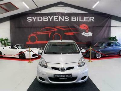 brugt Toyota Aygo 1,0 HB aut. 5-dørs 68HK 5d
