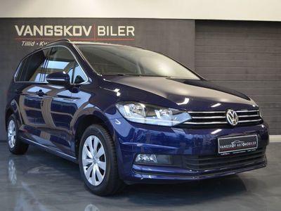 brugt VW Touran 1,6 TDi 115 Comfort Connect DSG 7p