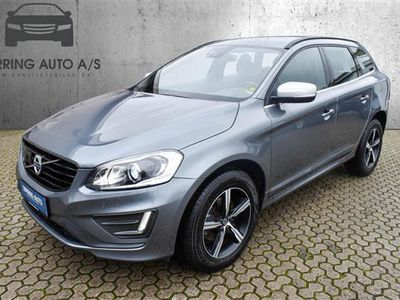 brugt Volvo XC60 2,4 D4 R-design AWD 190HK 5d 6g Aut. - Personbil - gråmetal