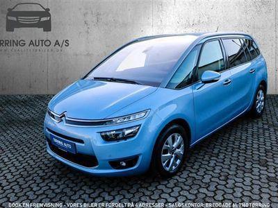 brugt Citroën Grand C4 Picasso 1,6 Blue HDi Intensive EAT6 start/stop 120HK 6g Aut. - Personbil - lysblå - 7 pers.
