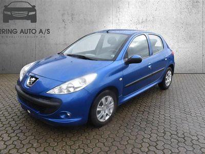 brugt Peugeot 206+ 1,4 HDI Comfort Plus 70HK 5d - Personbil - blåmetal