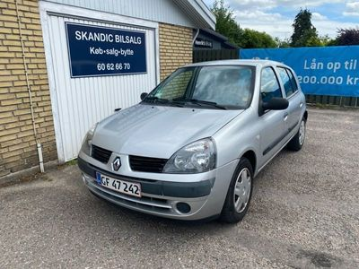 brugt Renault Clio II 1,2 8V Family Authentique Easy