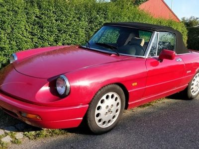 brugt Alfa Romeo Spider 2,0 117HK Cabr.