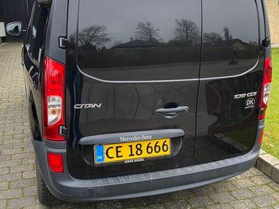 brugt Mercedes Citan 109 CDI Kassevogn lang