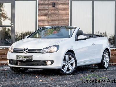 brugt VW Golf Cabriolet VI 2,0 TDi 140 DSG BMT