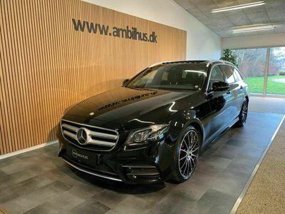 brugt Mercedes E220 AMG Line stc. aut.